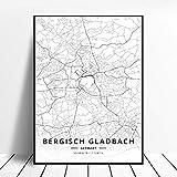 Leinwanddruck,Bergisch Gladbach Deutschland