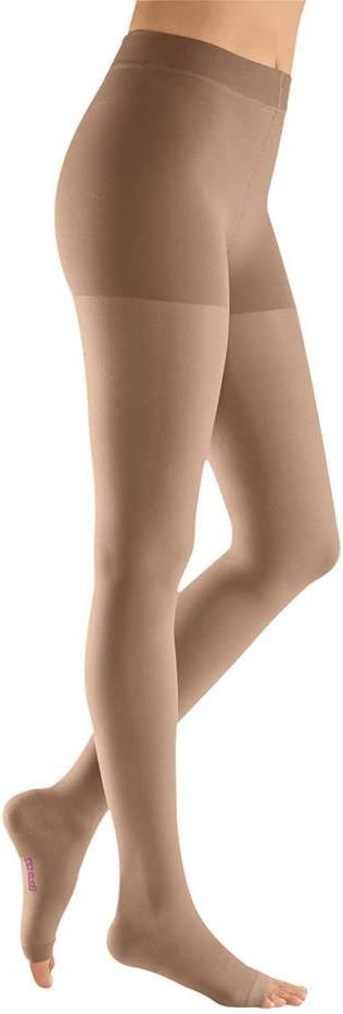Mediven Plus Quality inspection We OFFer at cheap prices Open Toe Petite Pantyhose Beige 30-40mmHg Size III