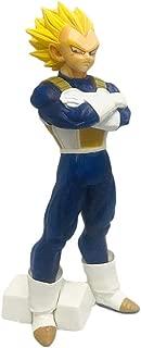 Toy Statue Pelo Amarillo Vegeta Figura Estatuas De Dragon Ball Figuras Super Saiyan Modelo De La Muñeca del PVC Figura De Acción Juguetes / 24 CM