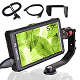FEELWORLD F6S 5.5 inch Full HD On-Camera Monitor with 4K HDMI Input/DC Output for Camera Charging, Field Monitor for Zhiyun Crane 2 DJI Ronin Gimbal Shooting, with Histogram Zebra False Colors