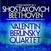 String Quartet No 3 / Rasumovsky String Quartet by Shostakovich (2013-03-05)