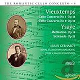 Vieuxtemps, Ysaÿe : Concertos pour Violoncelle. Gerhardt, Caballé-Domenech