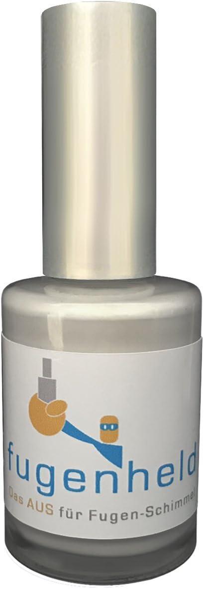 Recubrimiento antimoho para juntas, color con gran cobertura, resistente al moho, 1 x 15 ml, Gris