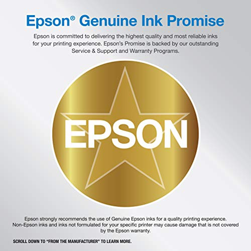 Epson EcoTank ET-2720 Wireless Color All-in-One Supertank Printer with Scanner and Copier - Black Photo #3