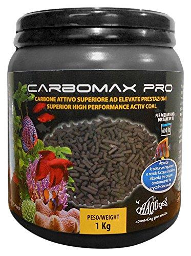 Haquoss Carbomax PRO Materiale Filtrante, 1Kg