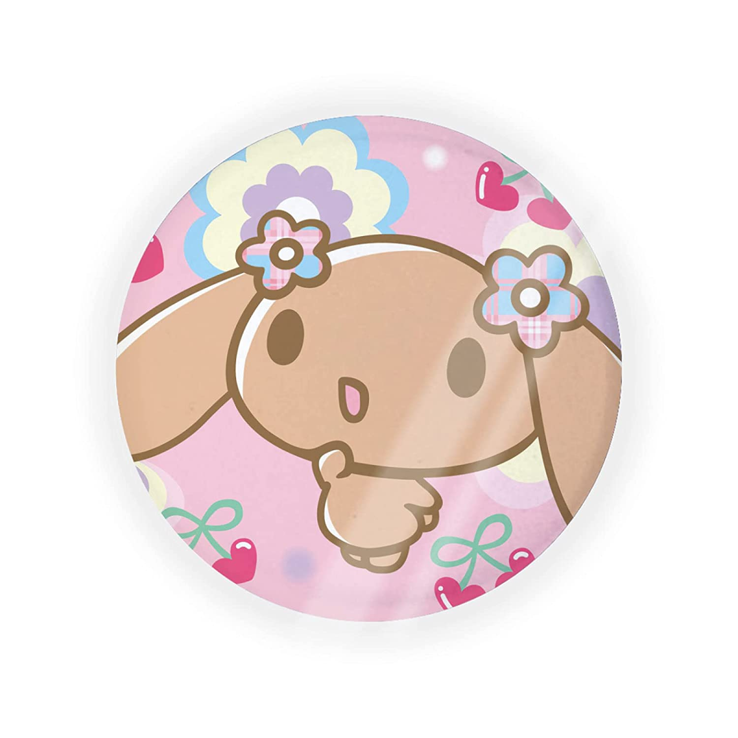 Yunlenb All stores are sold Cinnamoroll Bargain sale Portable Make-up Cushio Container Air Powder