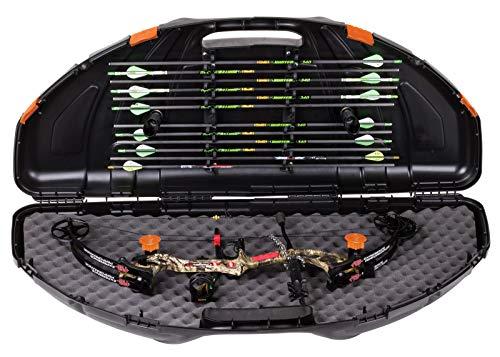Flambeau Outdoors 6461SC Safe Shot Bow Case, Portable Bow Storage