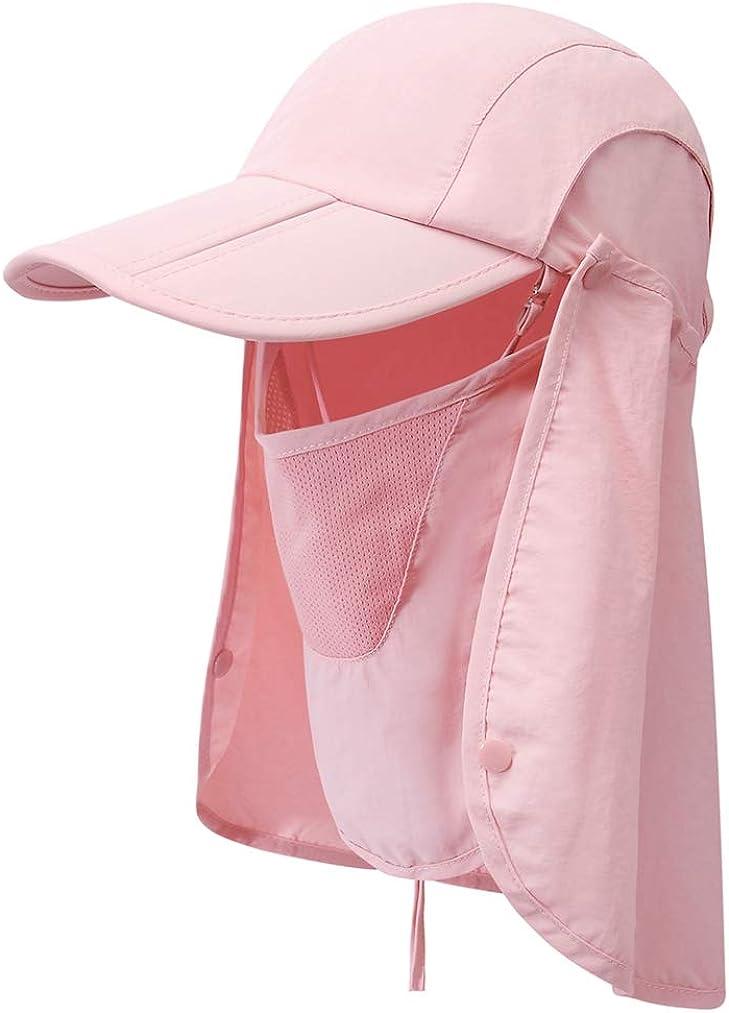 GADIEMKENSD famous UPF 50+ Folding Fishing Sun Hat 360 Popular products Outdoor