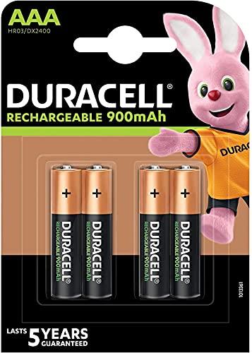 Duracell Pile Reste aufgeladen AAA, 850mAh, NiMH, Lot de 4, des points Game Direct