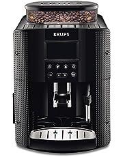 Krups EA8150 volautomatische espressomachine met groot LCD-scherm - Temparatuur en maalgraad instelbaar