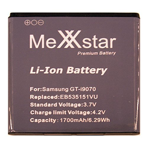 PolarCell - Batteria per Samsung Galaxy S Advance GT-i9070 1700mAh + mini-panno in microfibra