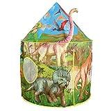 Tacobear Kinderspielzelt Junge Dinosaurier Spielzelt für Kinder Pop up Spielzelt Tragbare Faltbare...