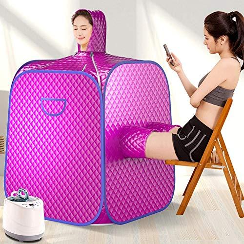 DAMAI Sauna Box 1000W 2L SPA Infrarot Sauna Tragbare Heizung 9 Ebene Fernbedienung Temperatur Zum Gewichtsverlust Reduzieren Stress Und Ermüden