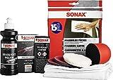 SONAX PROFILINE ScheinwerferAufbereitungsSet (325 ml) Aufbereitung von altersbedingt vergilbten und...
