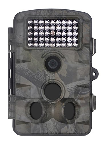 XIKEZAN 1080P HD Trail & Game Camera,12MP Mini Night Vision Wildlife Camera with Time Lapse & 2.4'...