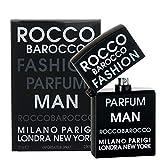 Rocco Barocco Fashion Uomo EDT, 75 ml, Vapo