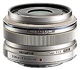 Olympus M.Zuiko Digital 17mm F1.8 Lens, for Micro Four Thirds Cameras (Silver) (V311050BU000)
