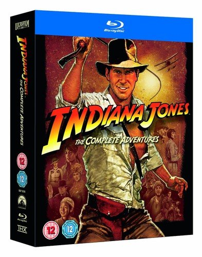 Indiana Jones: The Complete Adventures [Blu-ray] [1981] [Region Free]