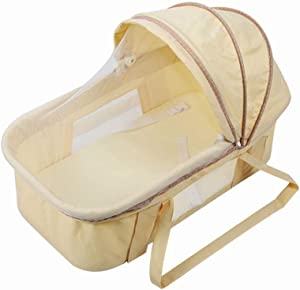 GOUO  Baby Going Out Newborn Baby Car Portable Folding Portable Safety Sleeping Basket Discharge Basket