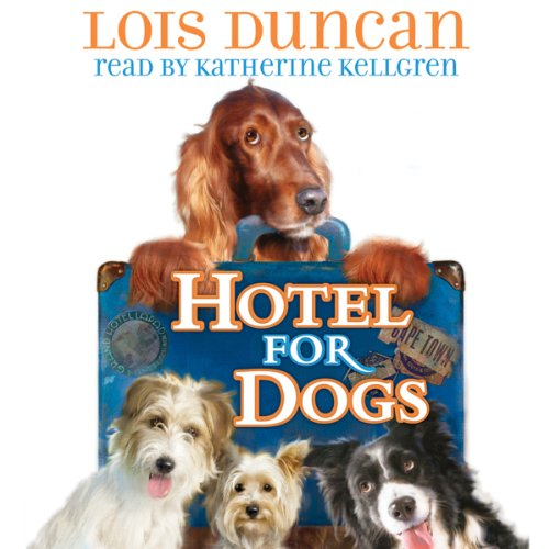 Hotel for Dogs audiobook cover art