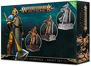 Warhammer Age of Sigmar: Stormcast Eternals & Paint Set