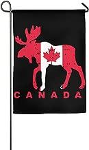 JJKKFG-H Canada Moose Flag - Garden Decorative Demonstration Party Flag