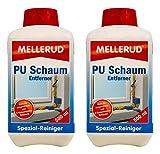 2x MELLERUD PU Schaum Entferner 0,5 Liter Set Montageschaum Bauschaum