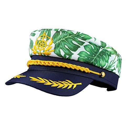 SOIMISS Yacht Kapitän Hüte Sailor Cap Skipper Hut Navy Marine Admiral Kappe Hut