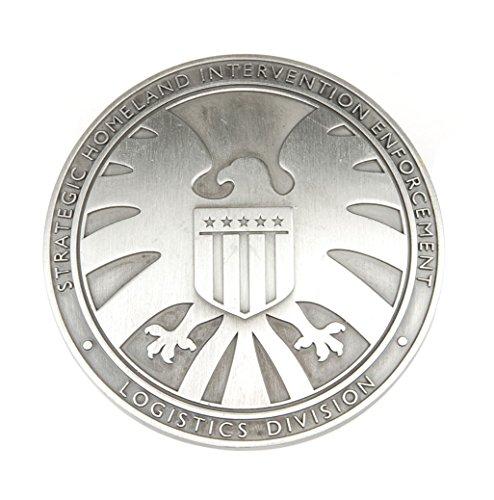Badge en métal The Avengers Agents of Shield S.h.i.e.l.d.
