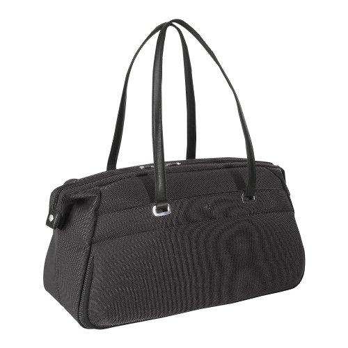 "Victorinox Tourbach Carpet Bag Duffel - 14"" x 22.5"" x 12"" - Black - Black"