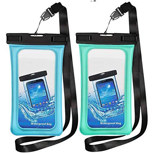 TeaTronics Floating Waterproof Case, Waterproof Phone Case IPX8 Waterproof...