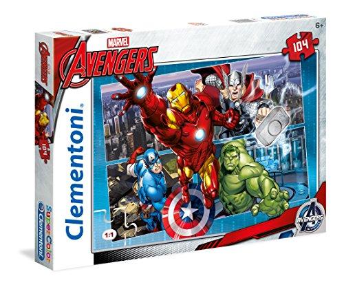 Clementoni 27932 - Avengers Puzzle, 104 Pezzi