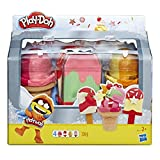Play-Doh E6642EU5 PD ICE POPS N Cones Freezer, Multicolour