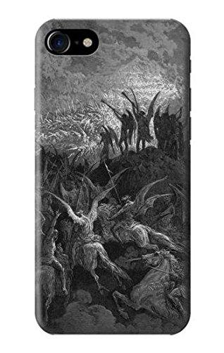 Gustave Dore Paradise Lost Case Cover Custodia per IPHONE 7