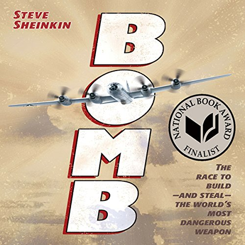 Bomb audiobook cover art