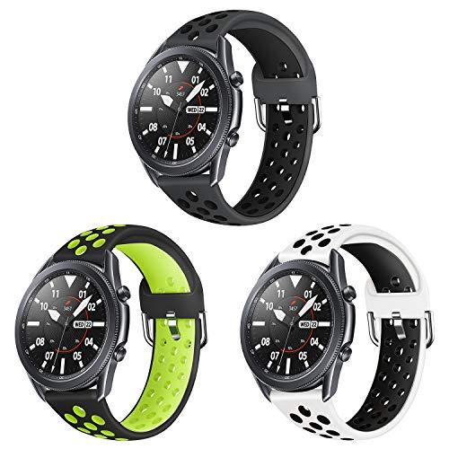 Sycreek 22mm Correa de Reloj Compatible para Samsung Gear S3 Correa de...