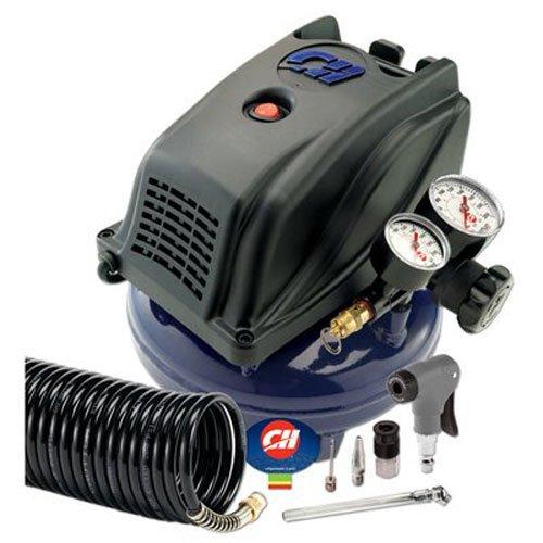 CAMPBELL HAUSFELD FP260000DI Pancake Compressor, 1 gallon