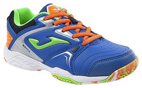 JOMA Match Jr, Zapatillas de Tenis Niños, Azul (Royal), 34 EU