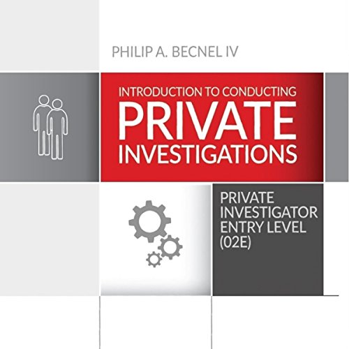 Couverture de Introduction to Conducting Private Investigations