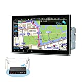 カーナビ 2DIN XTRONS 10.1インチ Android10.0 車載PC フルセグ 地デジ搭載 4G通信対応 DVDプレーヤー 8コア 4GB 64GB ゼンリン地図付 カーオーディオ WIFI Bluetooth GPS マルチウインドウ CarAutoPlay対応 (TMA105SI-MAP)