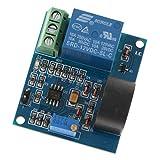 AC 0-5A Sensor De Detección De Corriente Módulo Interruptor Salida Voltaje De Trabajo DC 12V Protección Contra Sobrecorriente