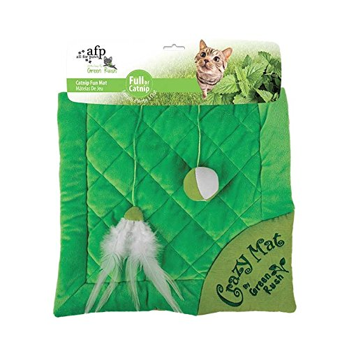 ALL FOR PAWS Tapis pour Chat Vert Rush 2,1 kg