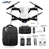 x12 quad - Accrie JJRC X12 GPS Drone 5G WiFi FPV Brushless Motor 1080P HD Camera GPS Dual Mode Positioning Foldable RC Drone Quadcopter RTF White