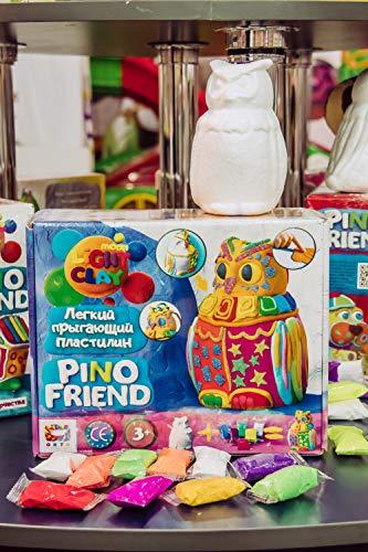 Plastilina modelada 70034 Soft Knete Pino Friend Puffy Niños Juguetes Idea Regalo Adecuado para niñas y niños mayores de 3 años