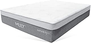 MLILY 13'' Serenity+ Memory Foam Mattress Soft and Extremely Comfortable Mattress with Removable and Breathable Cover (Queen)