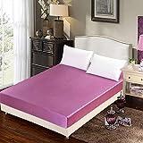 HPPSLT Protector de colchón - cubrecolchón Transpirable Una Sola Pieza de Pasta de sábanas y Frijoles_120 * 200 + 25cm