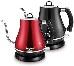 غلاية كهربائية ستانلس ستيل بعنق طويل لترشيح القهوة المختصة 1.2 لتر