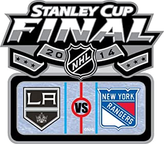 2014 NHL Stanley Cup Finals Kings vs. Rangers Pin