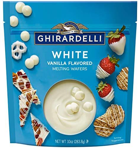 Ghirardelli, White Melting Wafers, 10oz