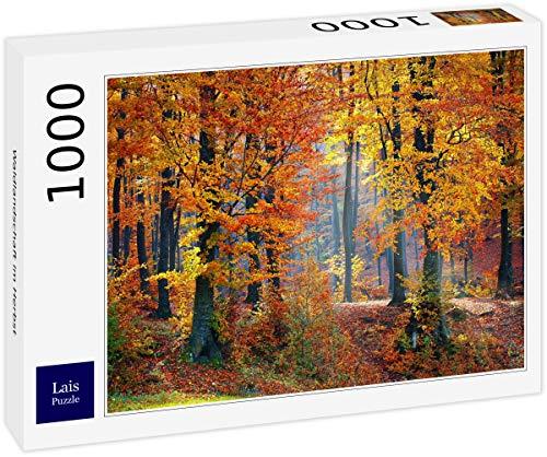 Lais Puzzle Paesaggio della Foresta in Autunno 1000 Pezzi
